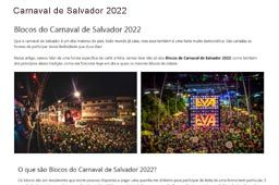 Carnaval de Salvador 2022